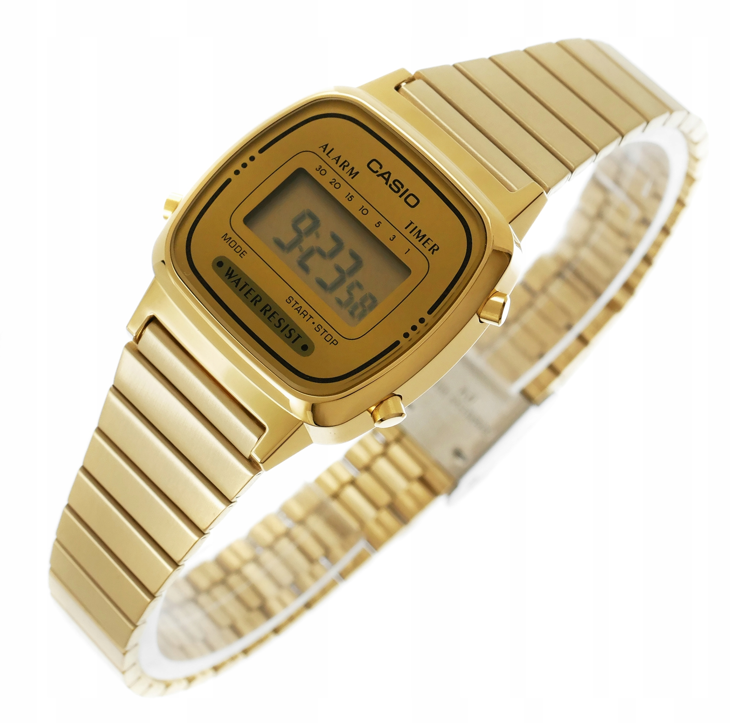 Dámske vintage hodinky CASIO RETRO WATCH LA-670WGA