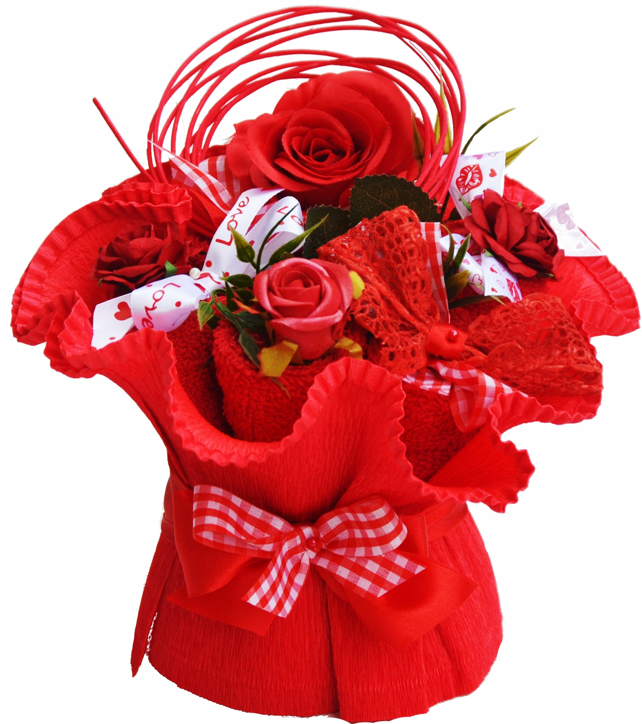 Wyjatkowy Bukiet Prezent Na Walentynki Dla Zony 8901096304 Allegro Pl