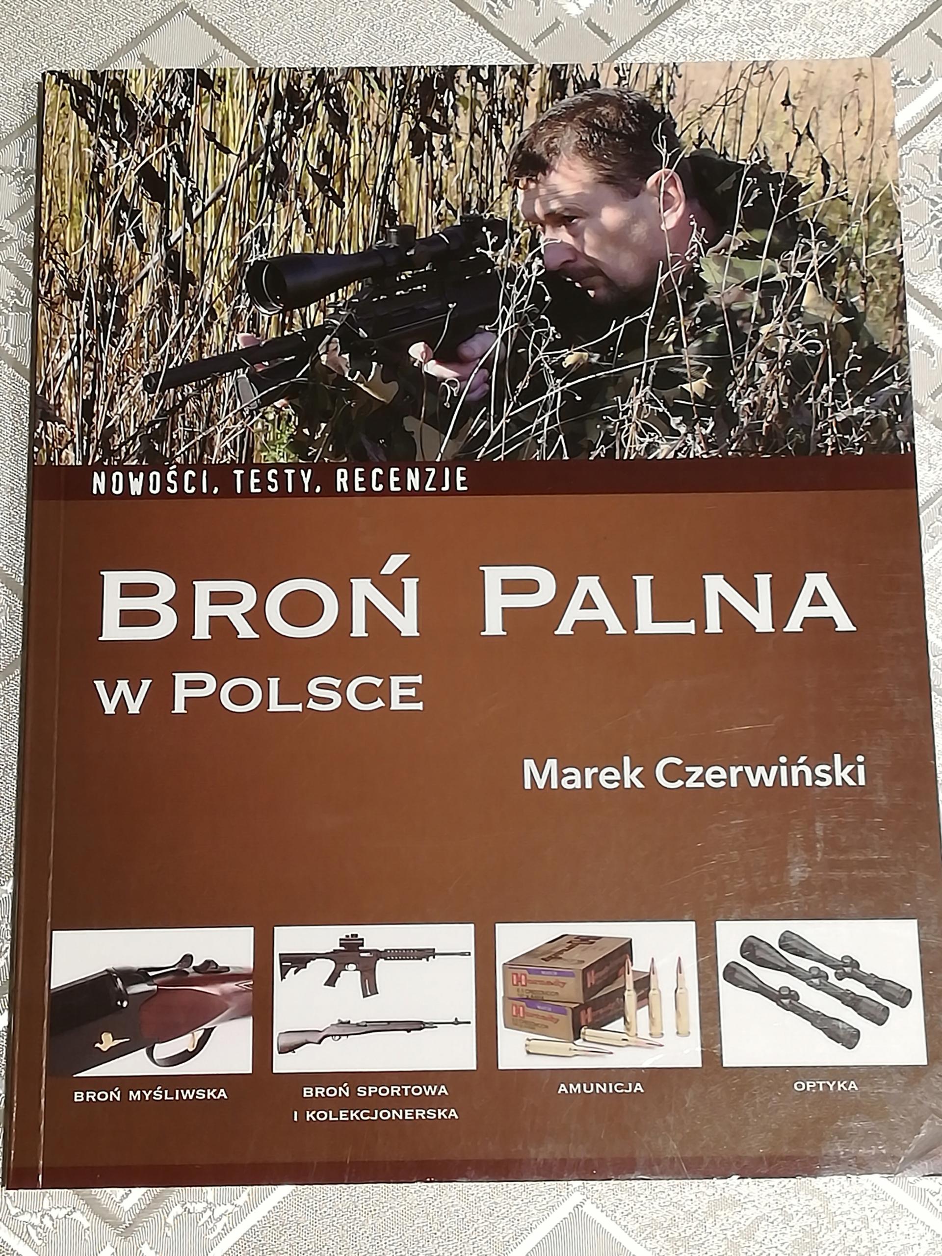KSIĄŻKA BROŃ PALNA w POLSCE - Marek Czerwiński !!!