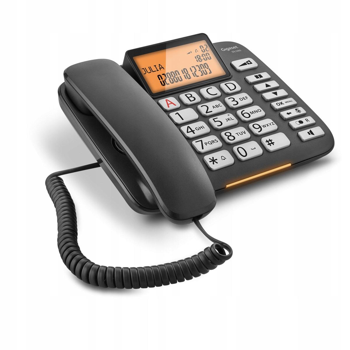 Купить Телефон проводной Gigaset DL580 на Otpravka - цены и фото - доставка из Польши и стран Европы в Украину.