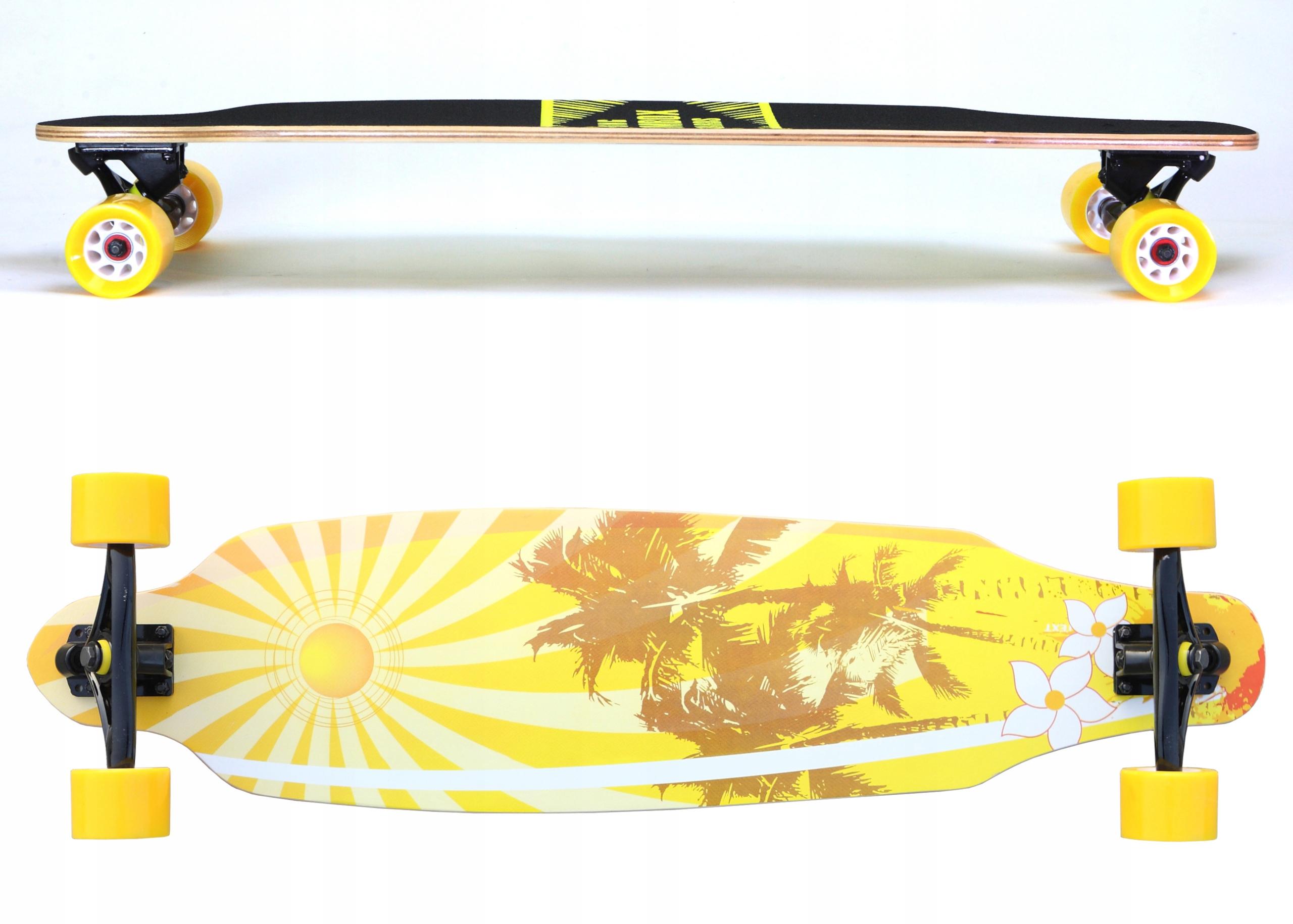 Longboard Palms 37 'ABEC-7 drevený