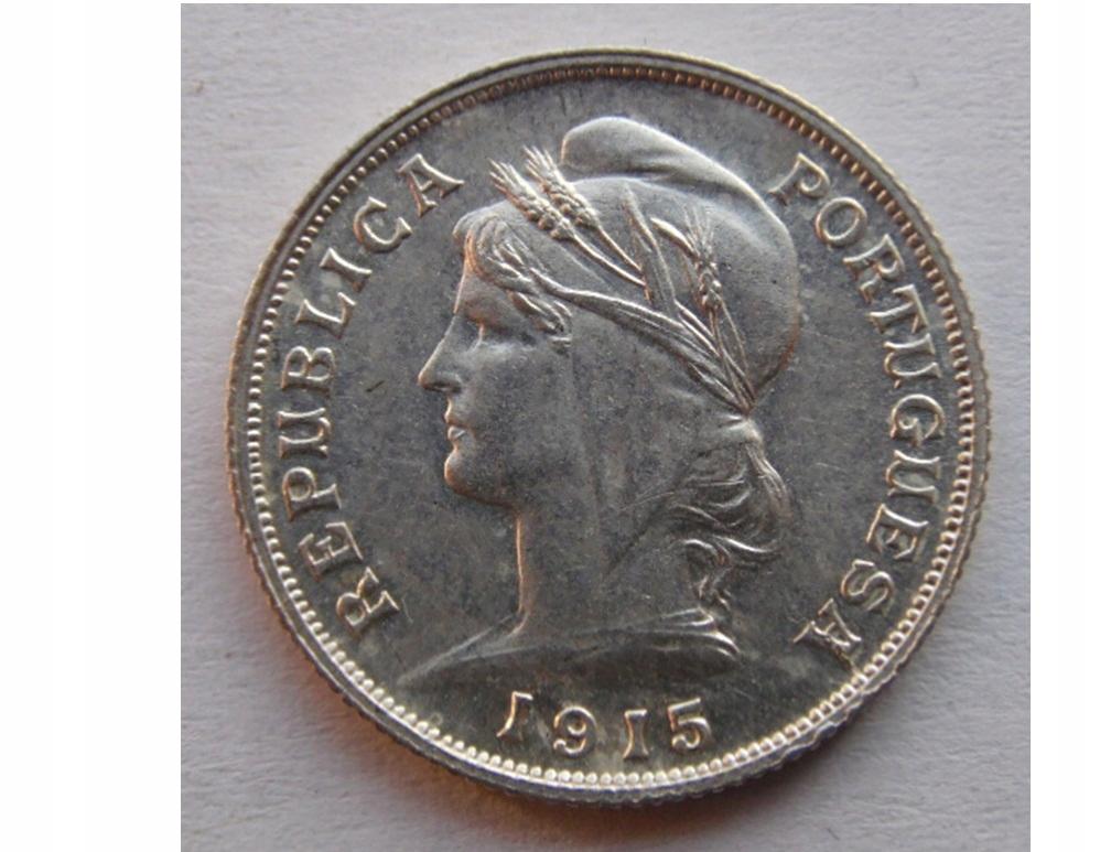 Купить Portugalia 10 centavos 1915 stan 1 Ag 835/1000 на Otpravka - цены и фото - доставка из Польши и стран Европы в Украину.