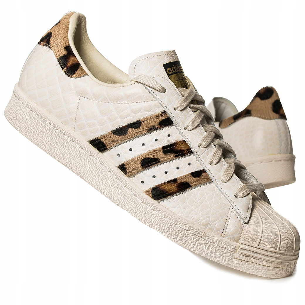 100% jakości Wielka wyprzedaż nowe przyloty Buty męskie Adidas Superstar 80s Animal S78955