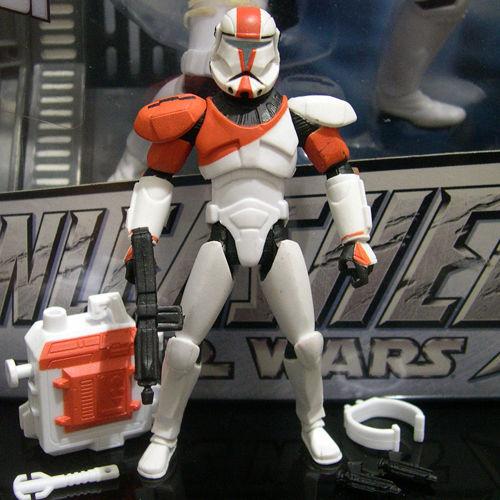 STAR WARS klonové vojny Republic Commando BOSS