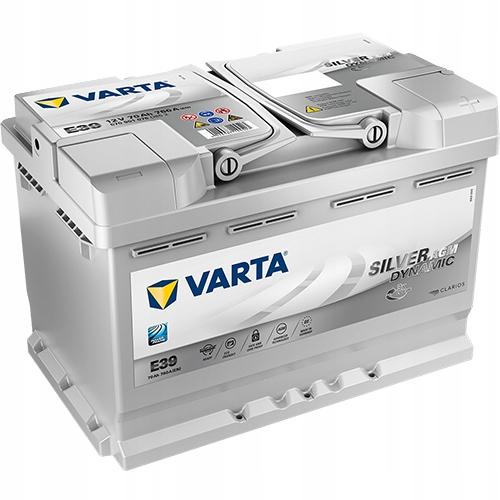 VARTA SILVER AGM E39 Start-Stop 70Ah GDAŃSK