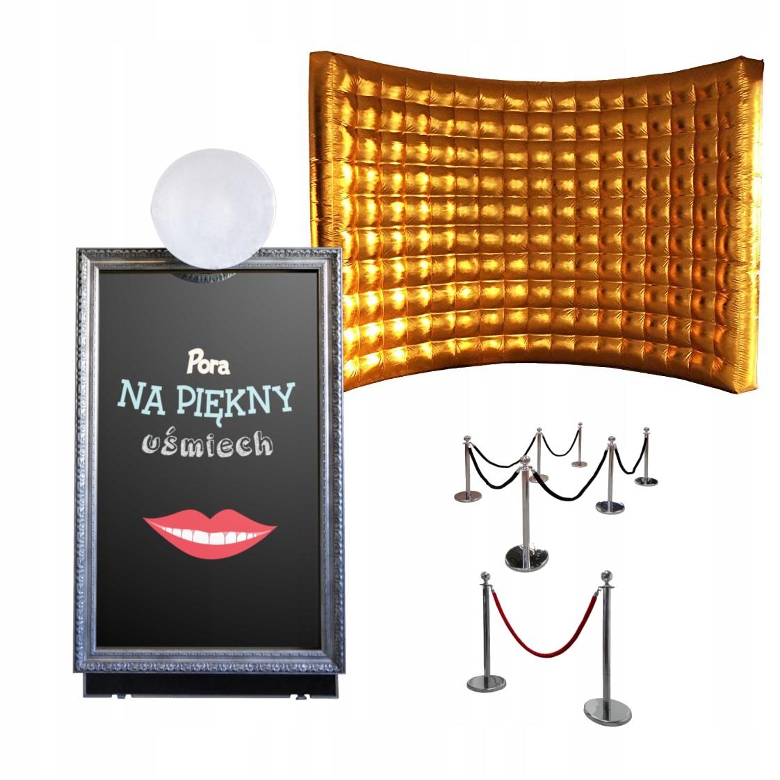 Item Fotobudka mirror Fotolustro 60 wall + rack