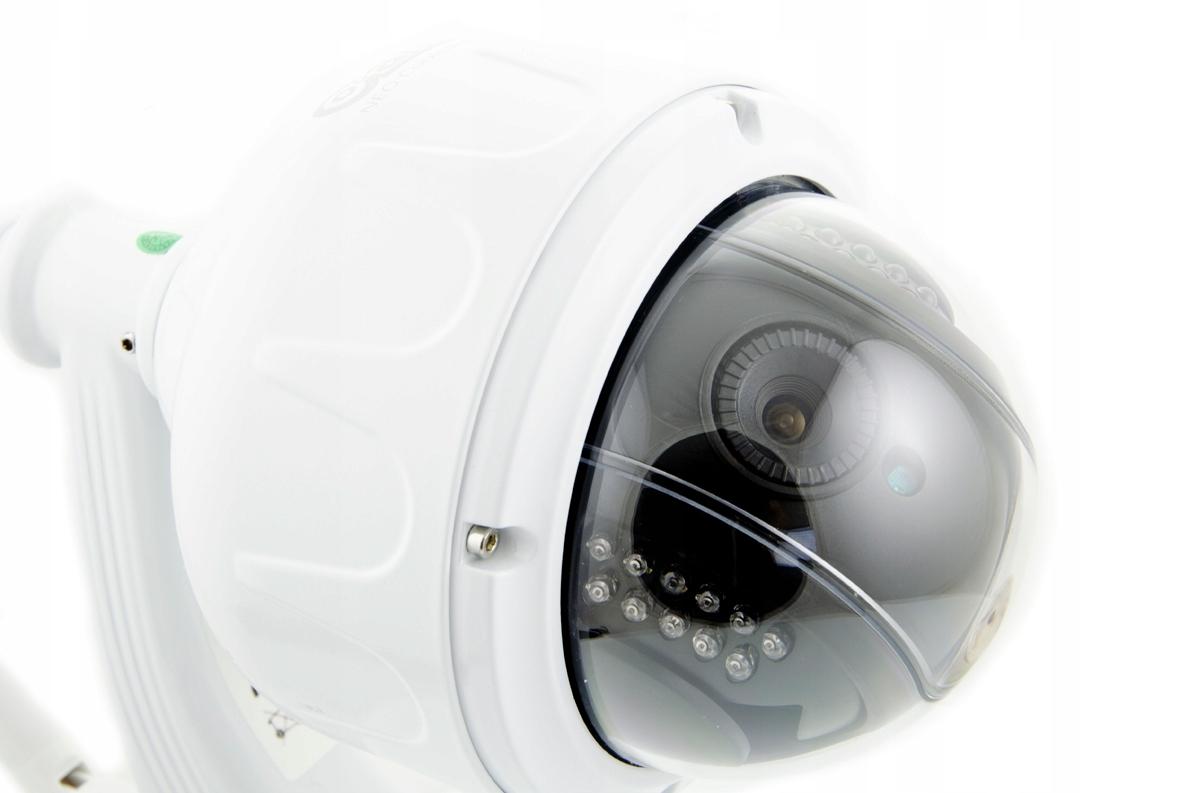Kamera Zewnętrzna Obrotowa WiFi 5 X ZOOM Optyczny Funkcje nagrywanie na kartę pamięci szeroki zakres dynamiki (WDR) sterowanie PTZ Wi-Fi