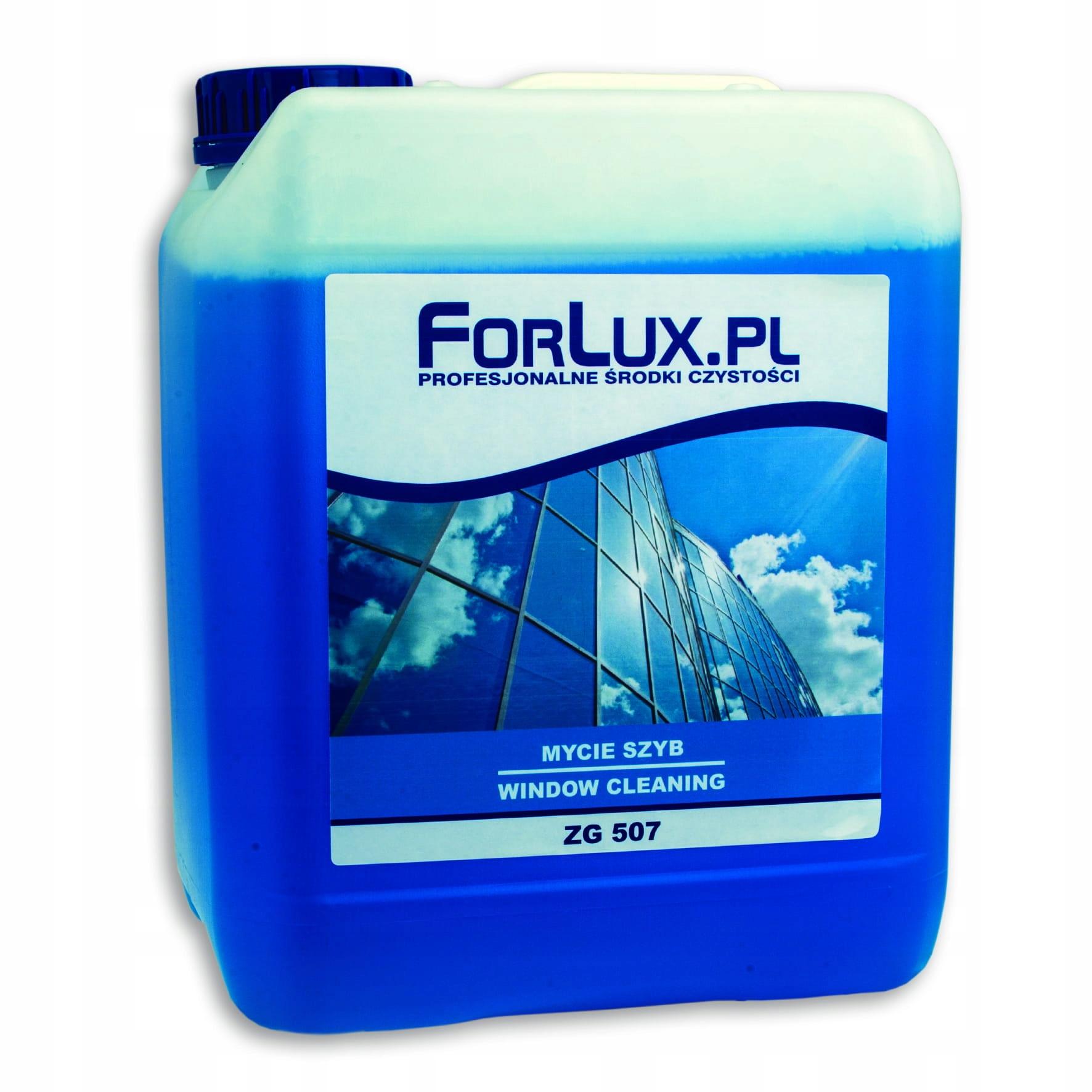 Жидкость для мытья стекол 5Л препарат FORLUX ZG 507
