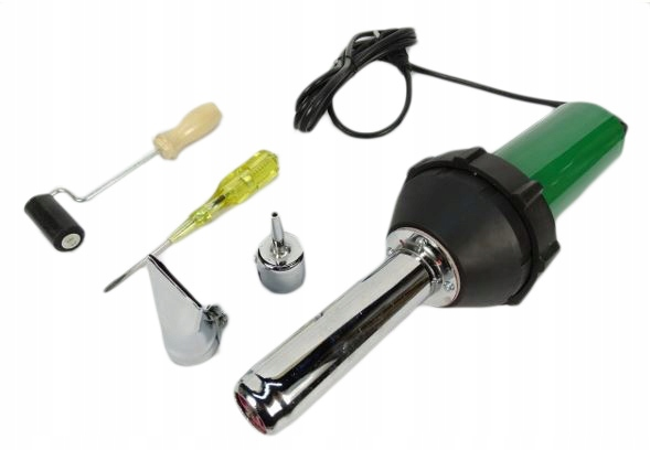 Сварочный апарат с термофеном Сварочный апарат для пластиковых брезентов