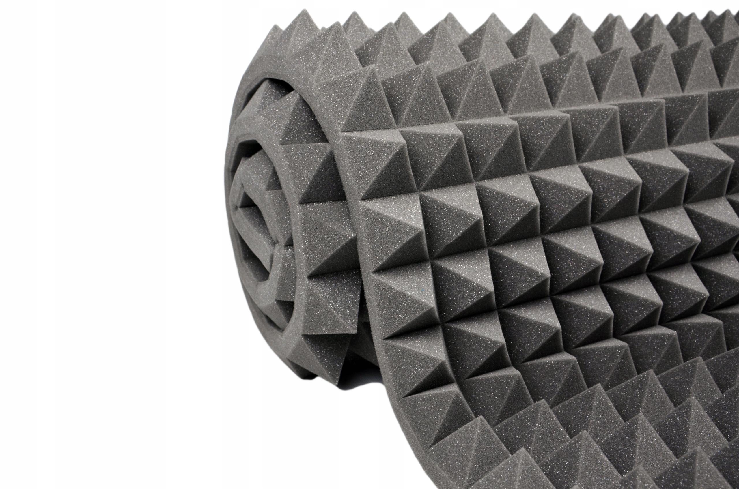 Звукоизолирующий коврик из акустической пены 6 см