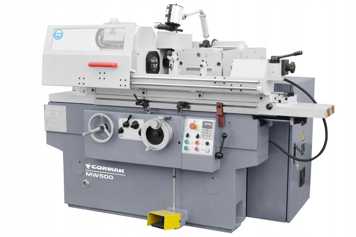 Brúsny stroj pre hriadele a MW 250 x 500 diery