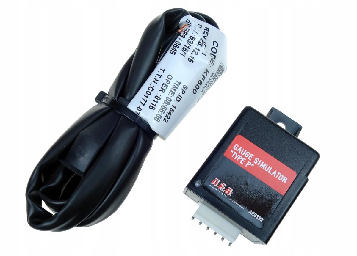 эмулятор показания топлива бензин aeb 392 peugeot