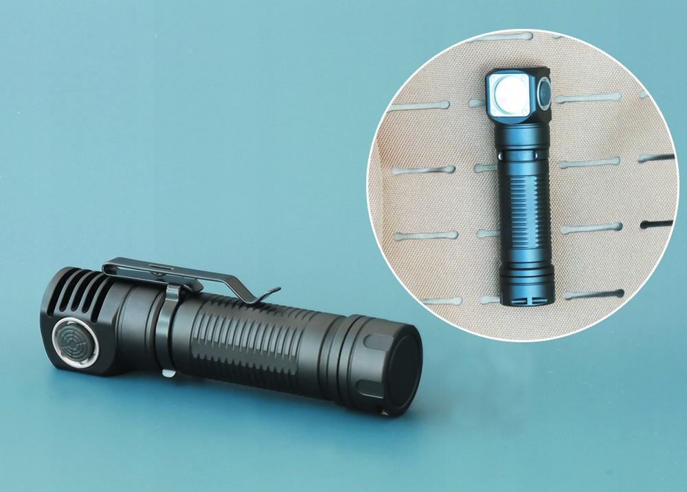LATARKA CZOŁOWA LED SKILHUNT H04 RC XM-L2 U4 1200L Zasilanie akumulatorowe