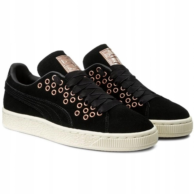 Puma Suede XL VR r. 39 damskie Lace czarne buty