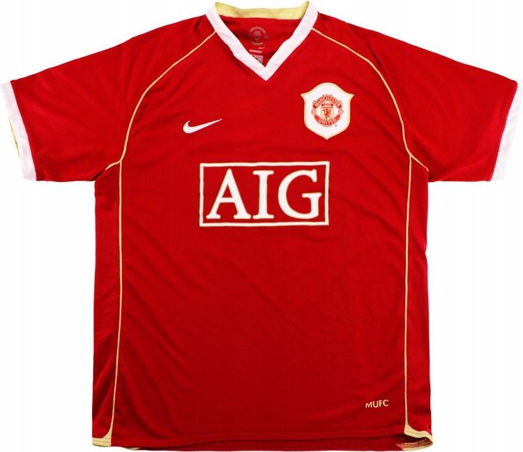 T-tričko MANCHESTER UNITED 2006/2007 - RETRO-rok. L