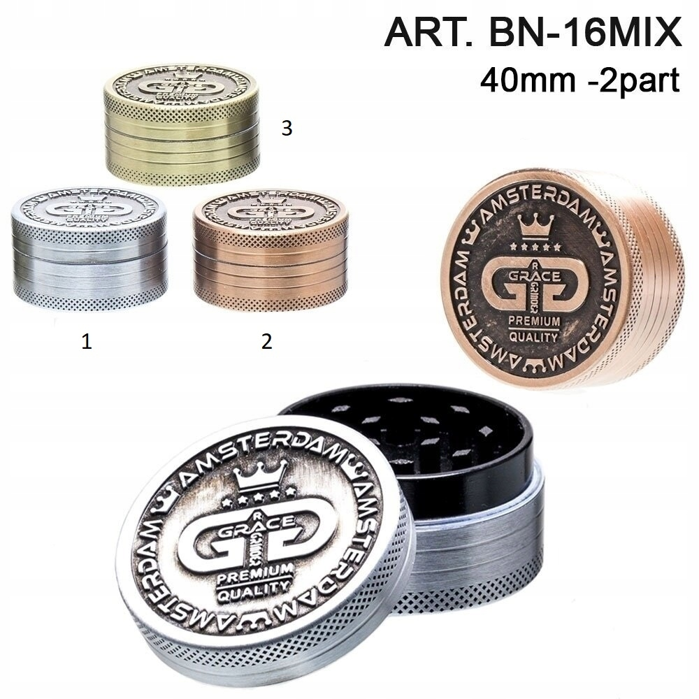 Дробилка Grinder Дробилка Grace Glass BN-16 золотой