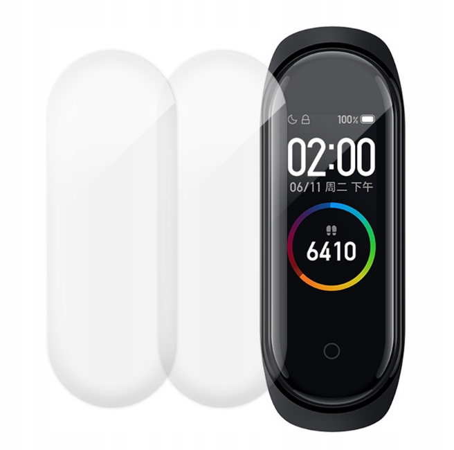 Item PROTECTIVE FILM for XIAOMI 4 MI BAND ! 3 pieces !