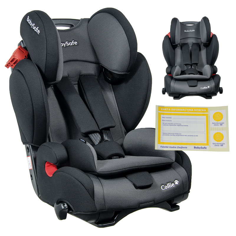 Babysafe Collie 9 36kg Fotelik Samochodowy 7860906849 Allegro Pl