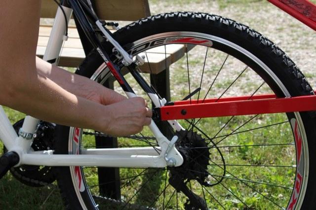 Hol holownik rowerowy roweru dziecka Trail Angel Waga produktu z opakowaniem jednostkowym 5 kg