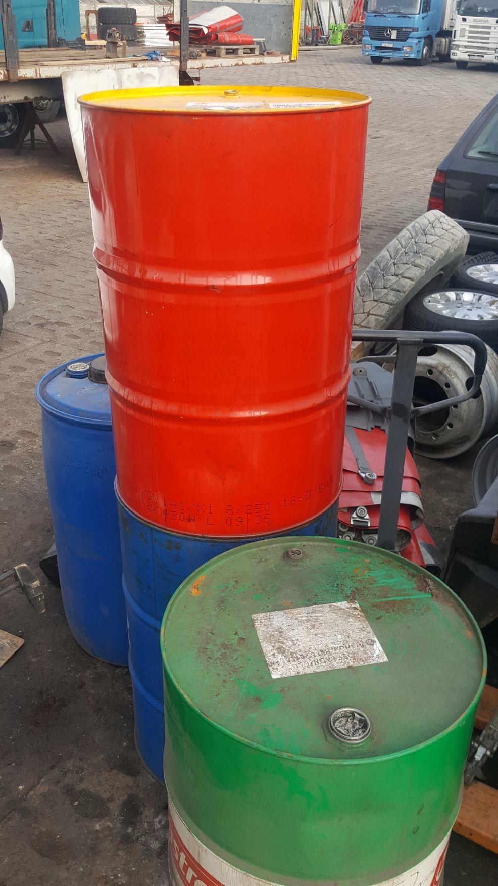 БОЧКА МЕТАЛЛИЧЕСКАЯ 200 литров после масла