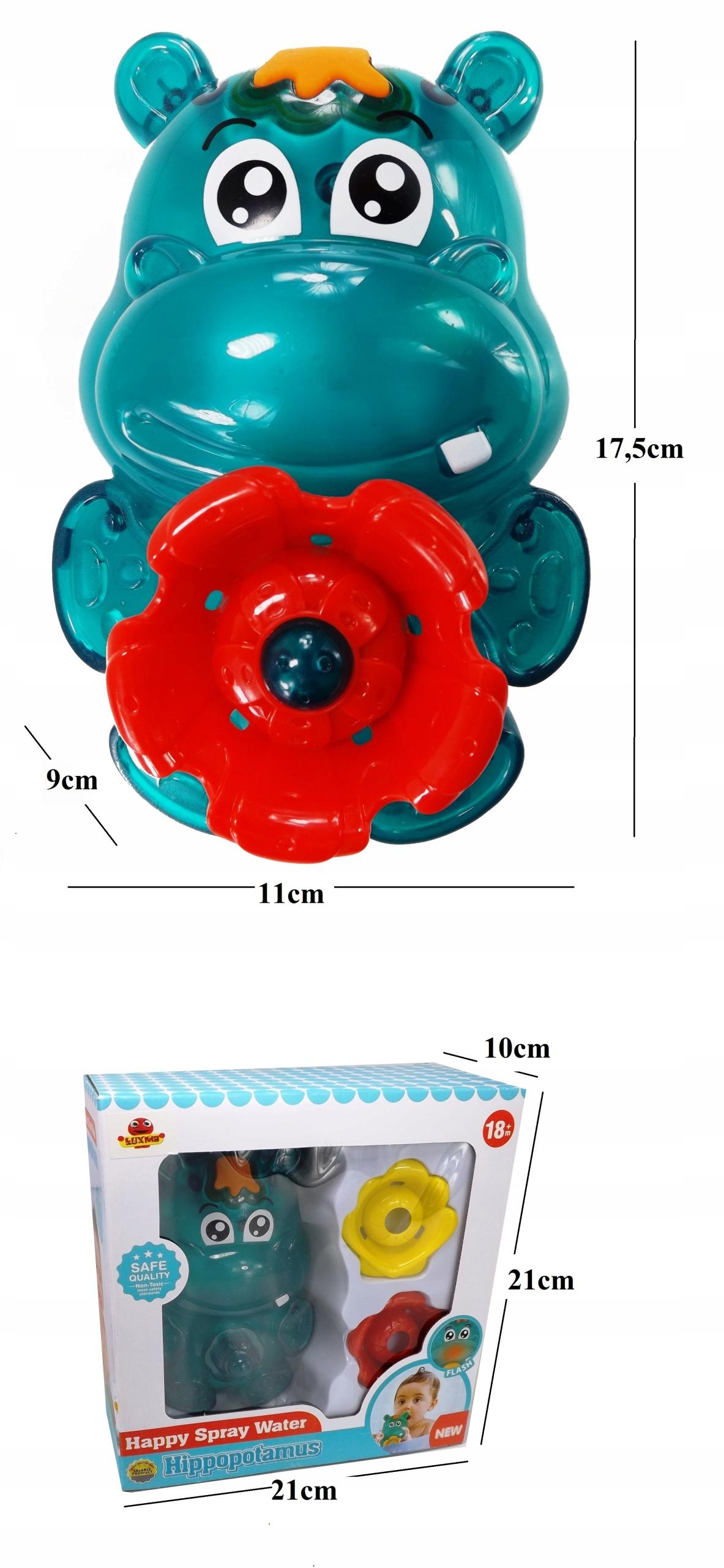 Prysznic obrotowy fontanna kąpieli hipcio SL87029 Waga (z opakowaniem) 0.34 kg