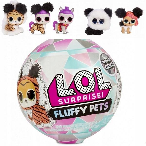 LOL Fluffy Surprise Pets Zimné diskotéky