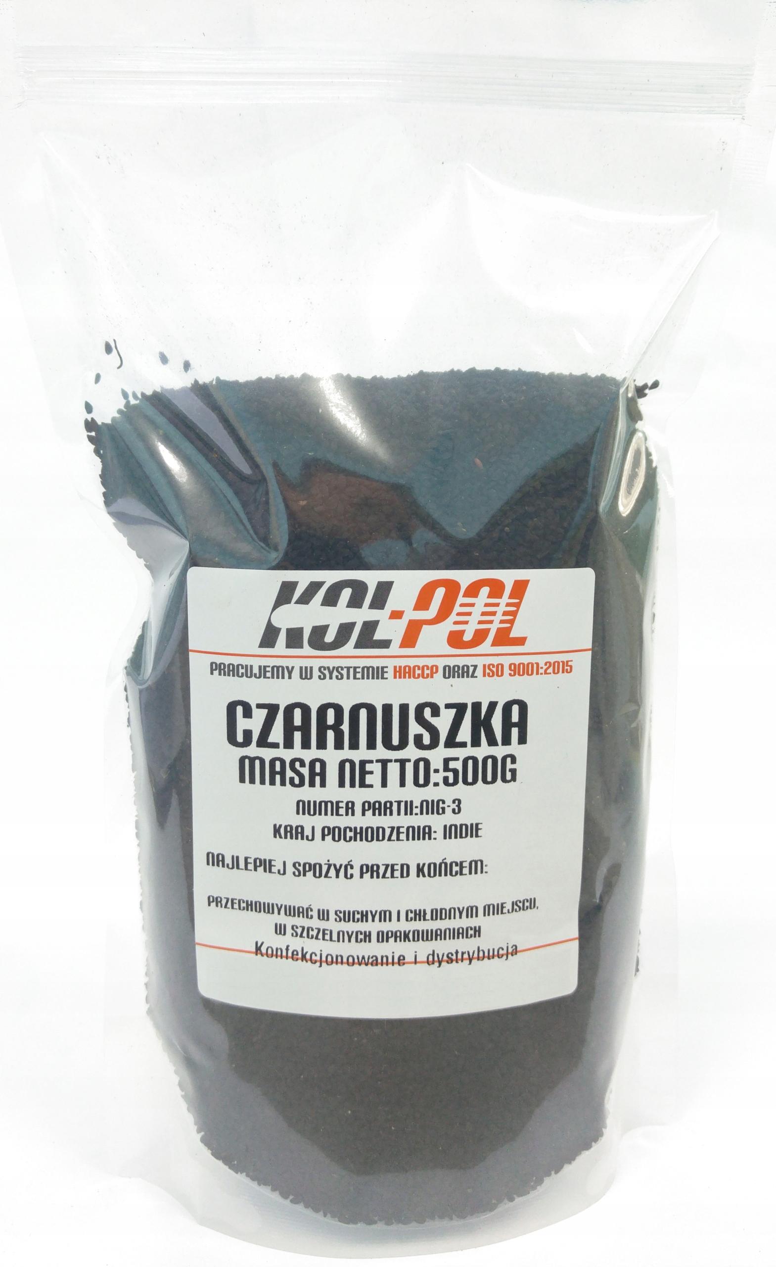 Купить Czarnuszka зерно 0,5 кг 500g черный тмин тмин на Otpravka - цены и фото - доставка из Польши и стран Европы в Украину.