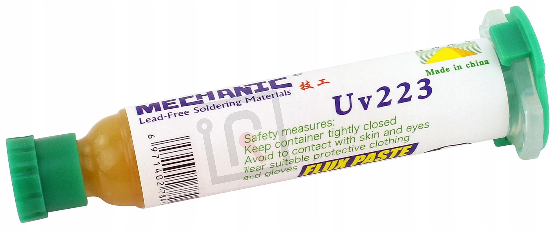 FLUX TOPNIK PASTA LUTOWNICZA MECHANIC UV223 10G