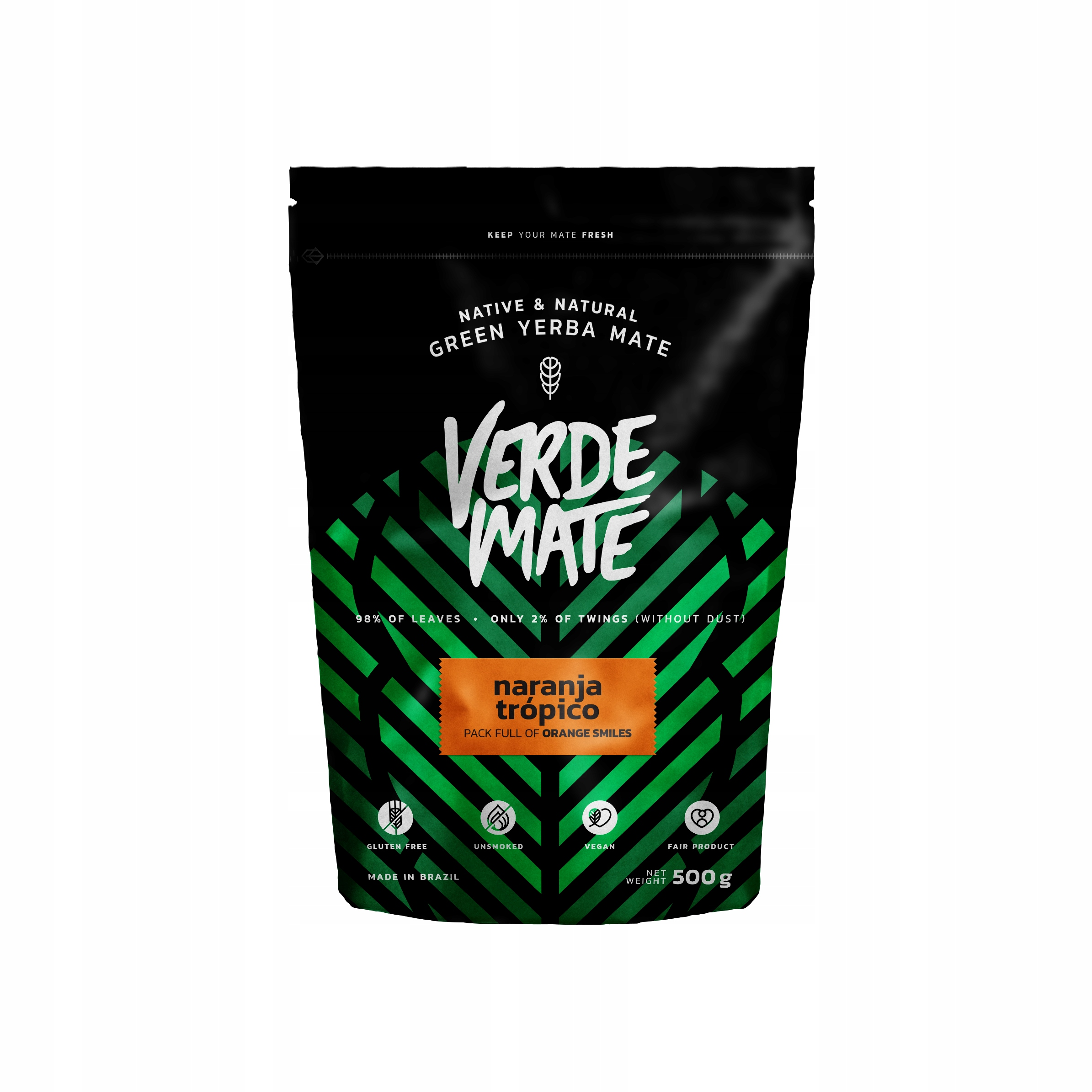 Yerba Verde Mate green Наранья Tropico Ноль ,5кг