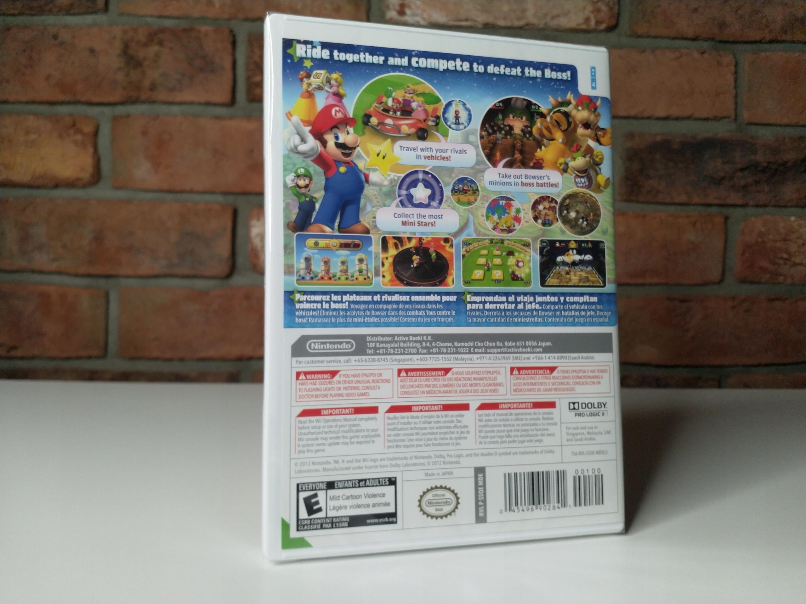 Купить Mario Party 9 Nintendo Wii Новая Пленка ver. США на Otpravka - цены и фото - доставка из Польши и стран Европы в Украину.