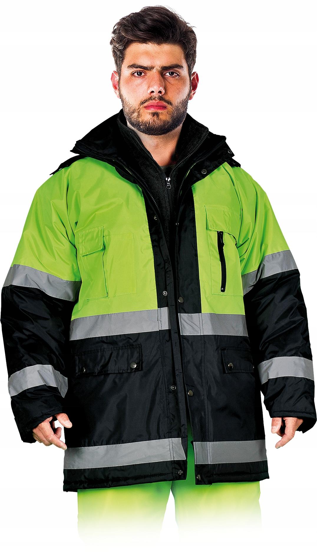 Куртка Мягкий Зимняя охране ТРУДА Рабочая Светоотражающая М