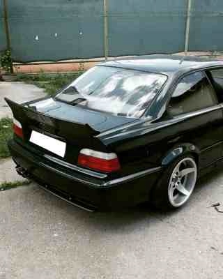спойлер ducktail bmw e36 седан купе rocket дрифт