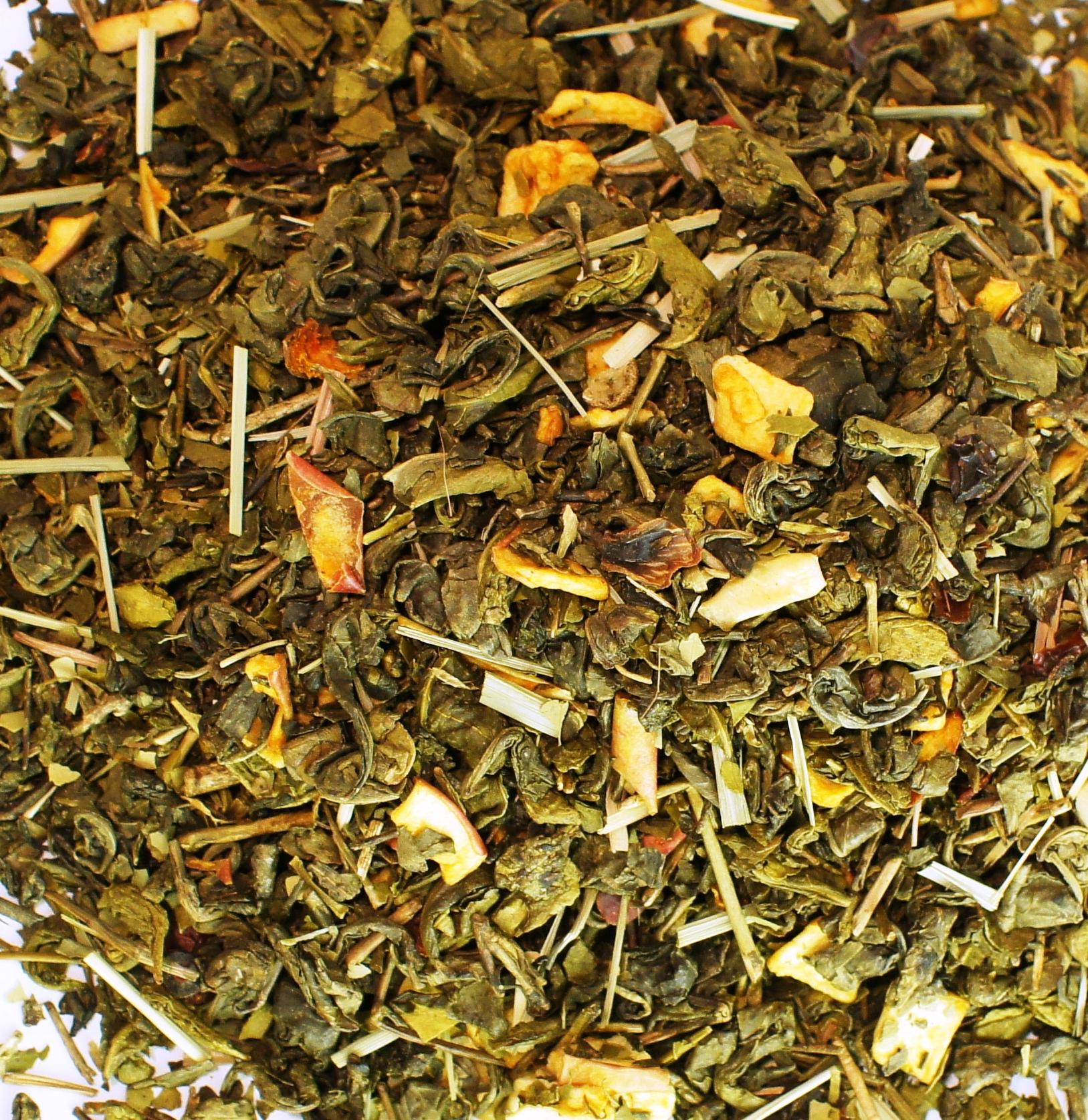 Zelený čaj s príchuťou FITNESS 1kg super hit