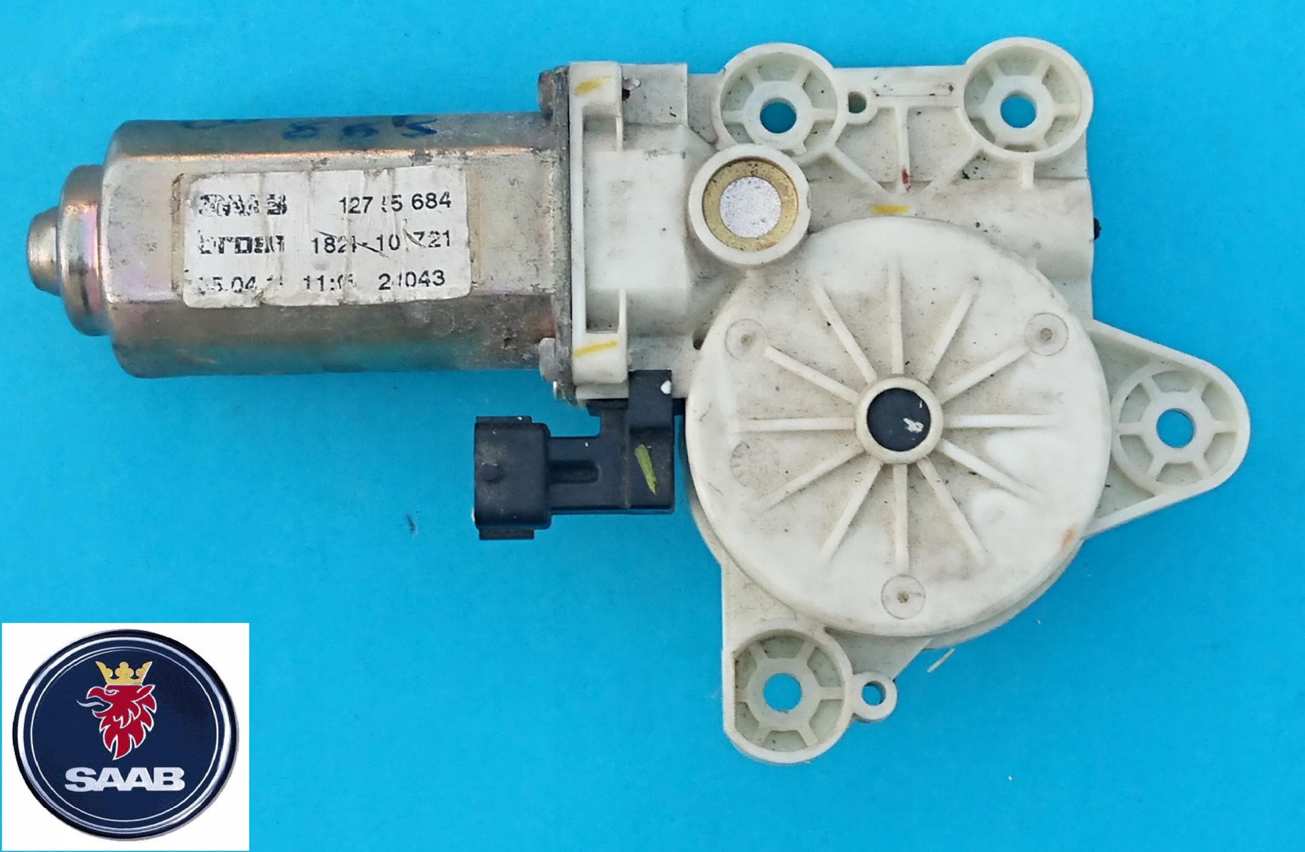 SAAB 93 9-3 SILNIK podnosnika szyby przod P WWA