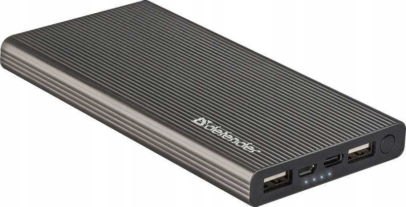 Item Portable charger 10000mAh USB Defender Extralife C +2xUSB