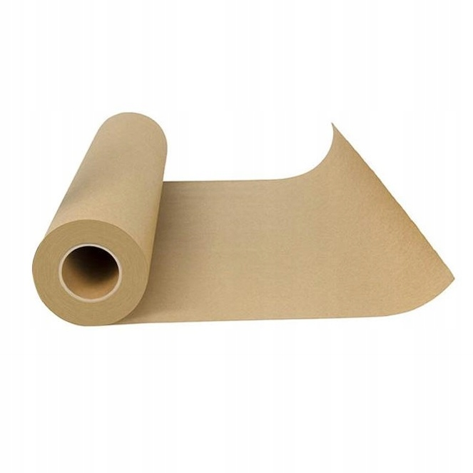 Бумага для выпечки коричневая силиконовые покрытая 50м