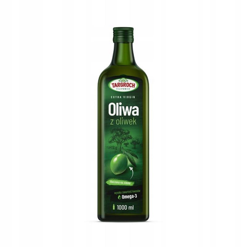 Oliwa z oliwek Extra Virgin zimnotłoczon 1000ml 1l
