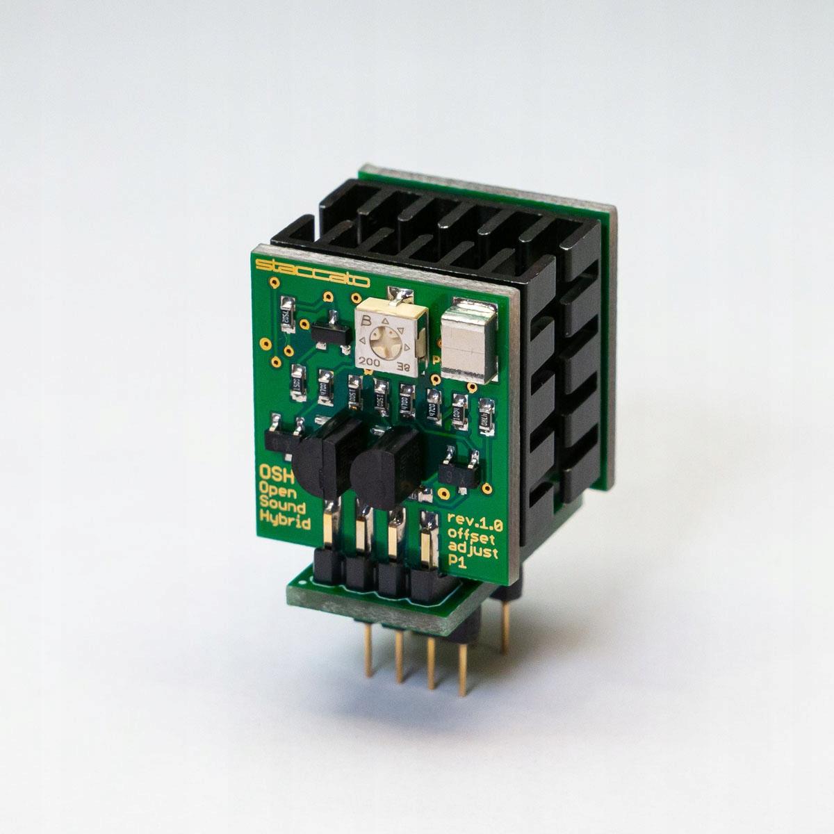 Стаккато OSH-DHb opamp wzmacniacz operacyjny двойной