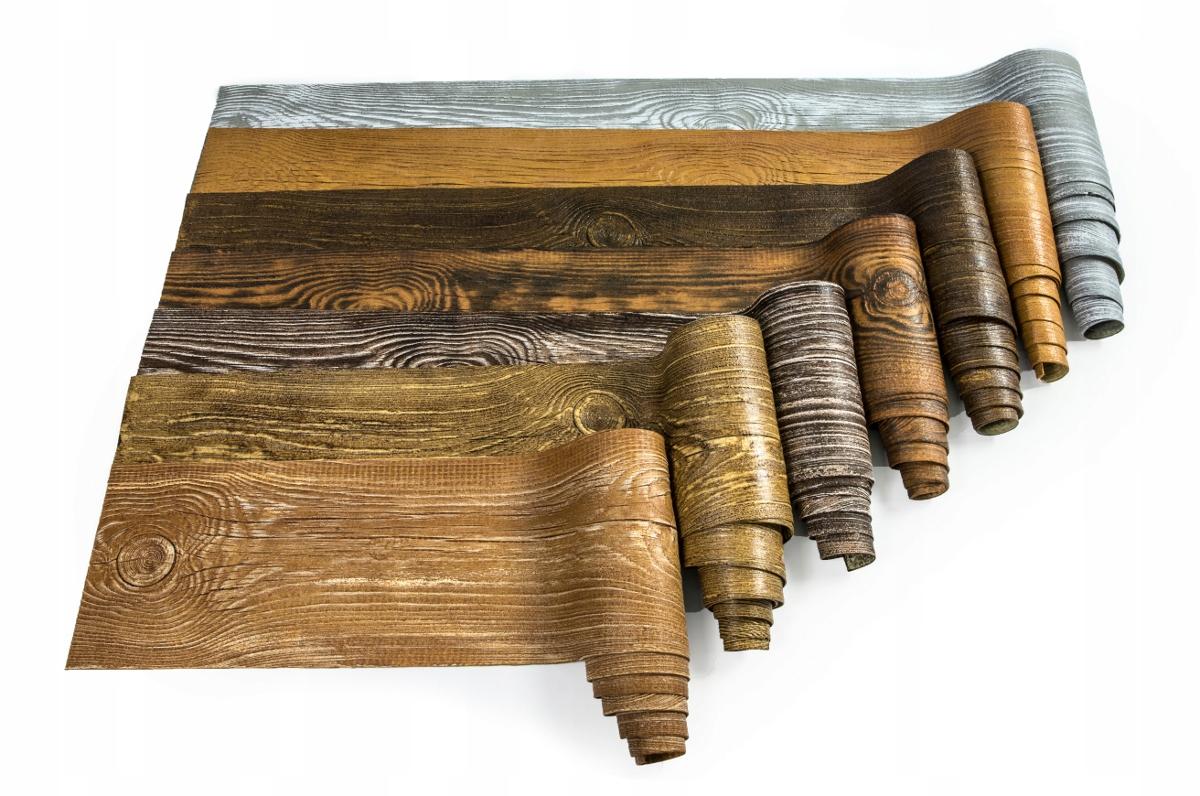 облицовочная плита гибкая имитация дерева 1 м2