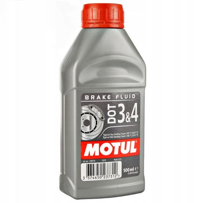 Тормозная жидкость Motul DOT 3&4 500 мл