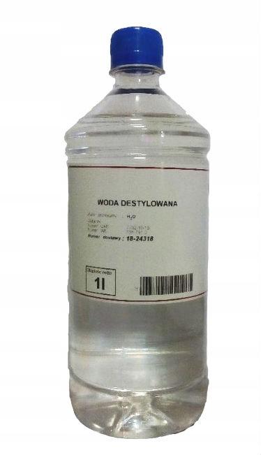 DISTILLED WATER чистый для решений 1L STANLAB
