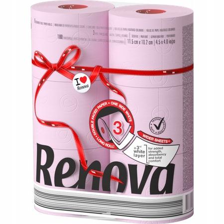 Красная этикетка Макси Роуз Туалетная бумага 6шт.