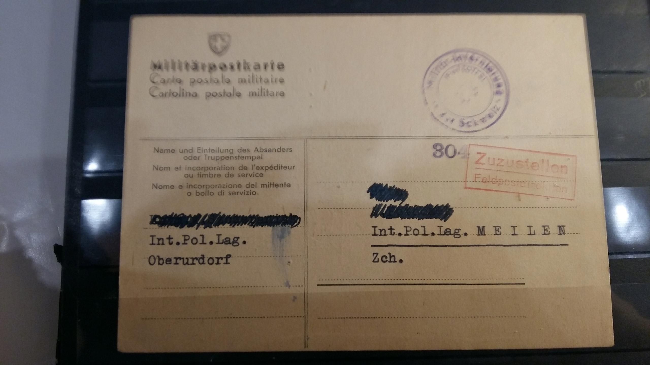 Pole pre internované vo Švajčiarsku K2633