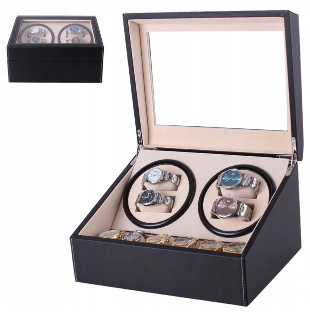 Item ROTOMAT 4+6 AUTOMATIC WATCH BOX CASE