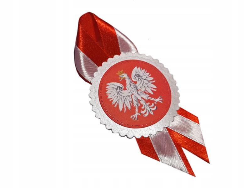 KOTYLION NÁRODNÁ COTYLION RIBBON Biela a červená