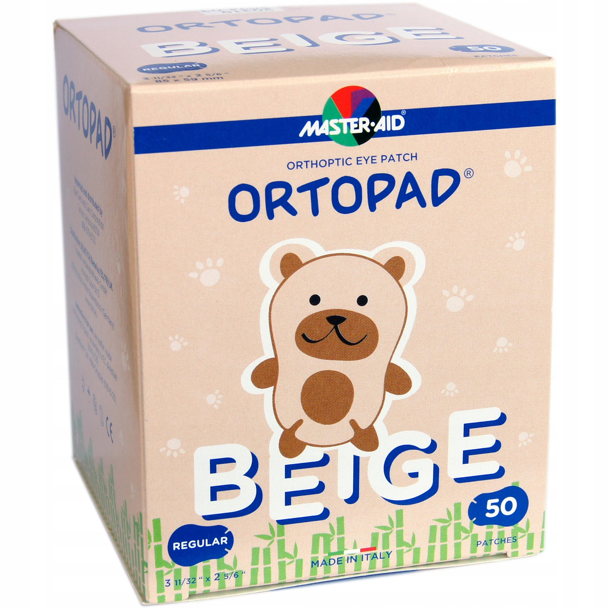 Купить Ortopad Телесный Regular Пластырь На Глаз Бесплатно на Otpravka - цены и фото - доставка из Польши и стран Европы в Украину.