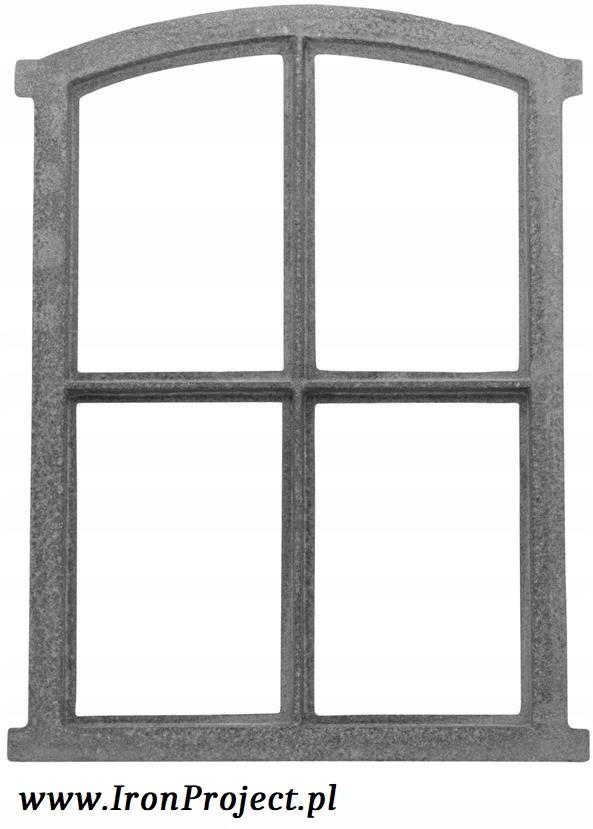 NOVÉ okno liatiny retro 50x34,5 cm