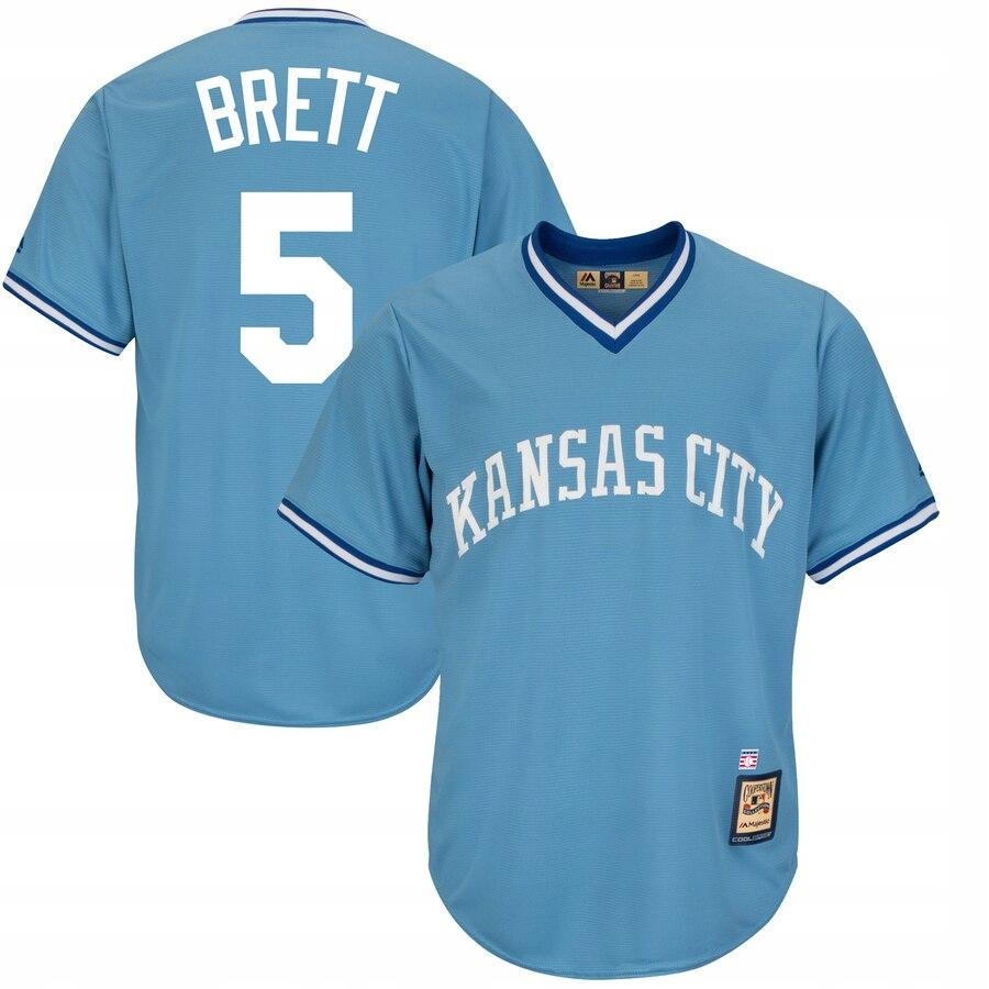Majestic MLB Kansas City Brett 2XL Shirt