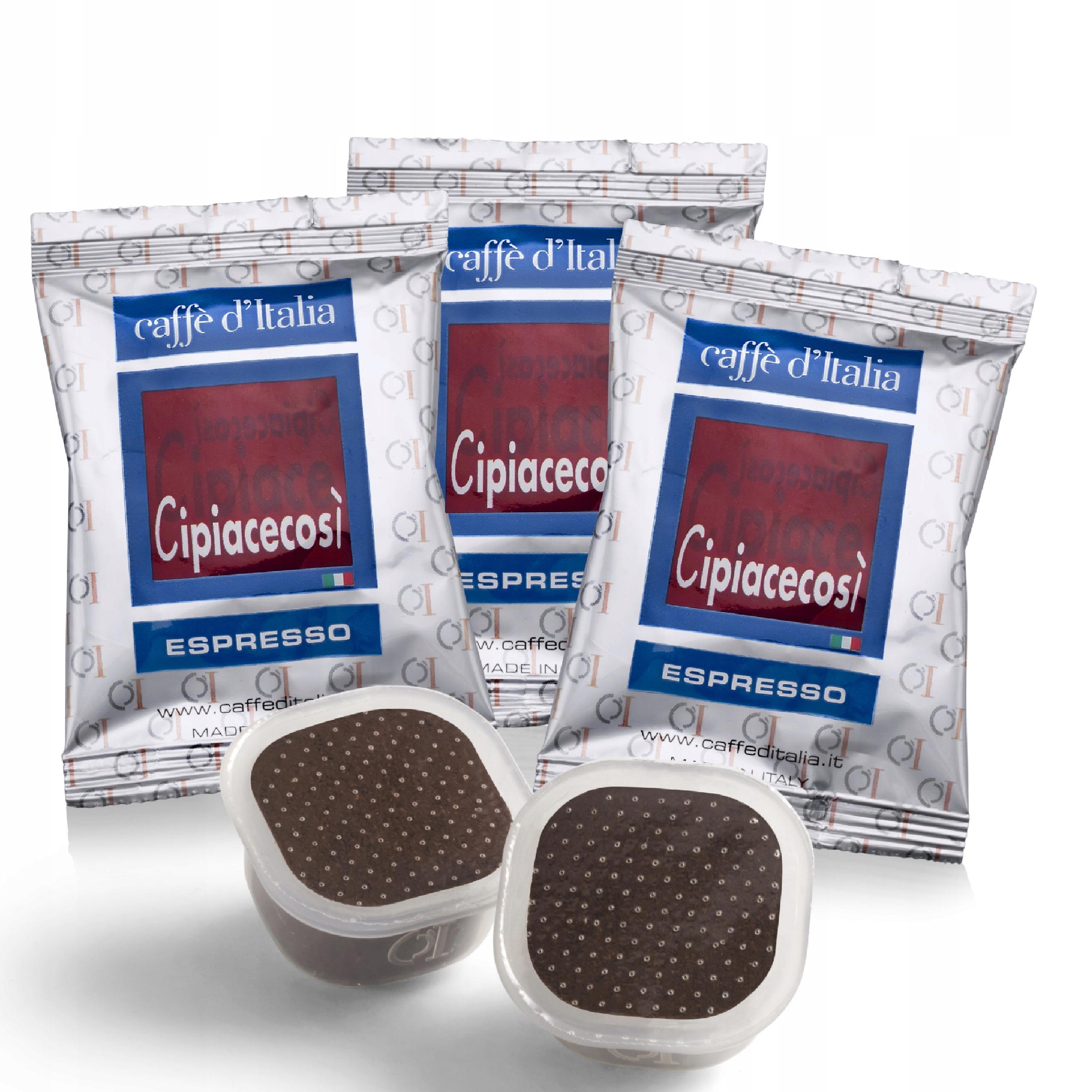 CAFFE_D'ITALIA kapsule CIPIACECOSII PK mačka.100 Ks