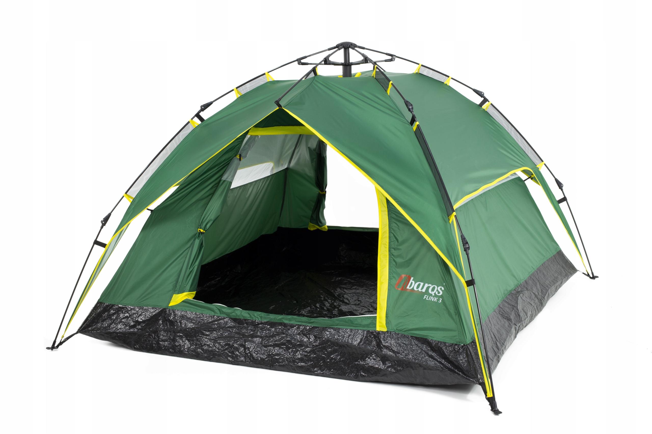 Туристическая палатка Flink 3 АВТОМАТИЧЕСКИЙ 3000мм H2O